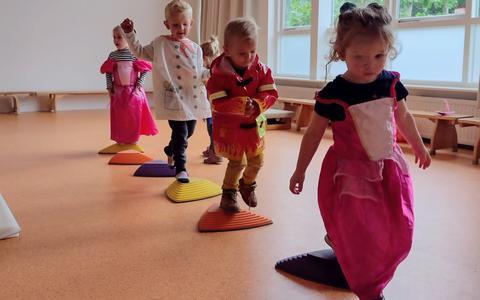 Een feestelijke week op kindcentrum De Bron.
