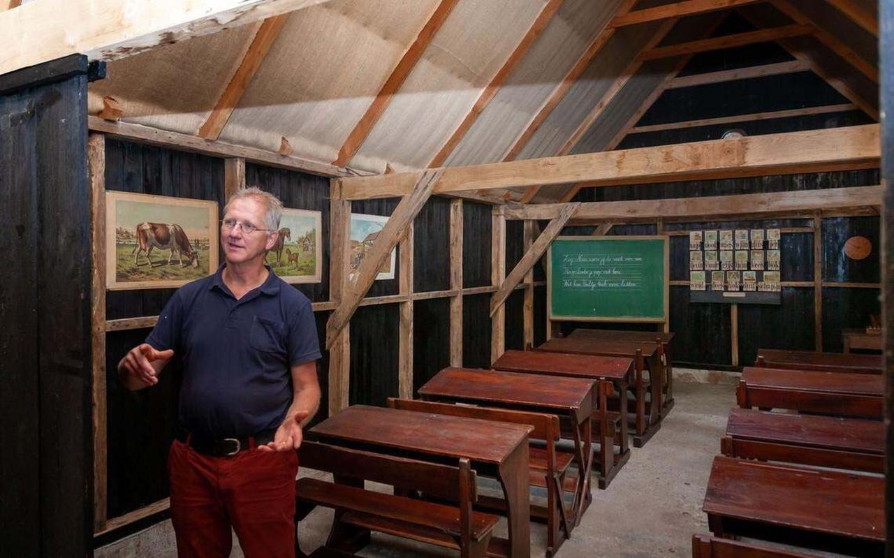 Voorzitter Bob Veldman van stichting Weldadig Oord.