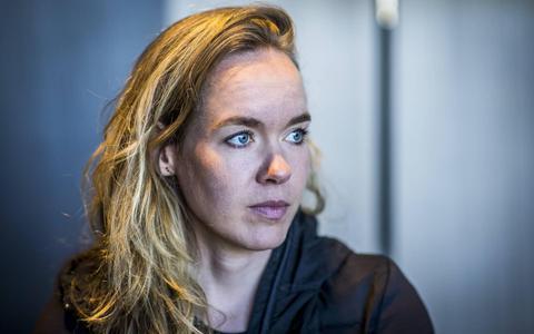 Wielrenster Anna van der Breggen.