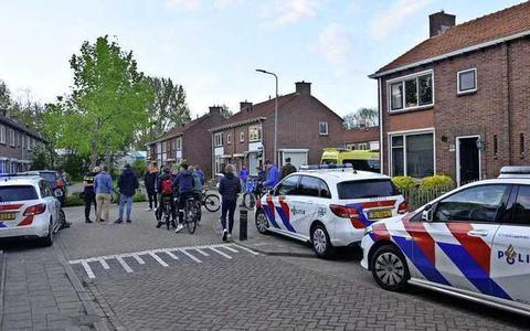Het slachtoffertje werd per ambulance overgebracht naar het ziekenhuis.