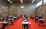 De eerste leerlingen VMBO en Groen Lyceum startten met het examen Nederlands.