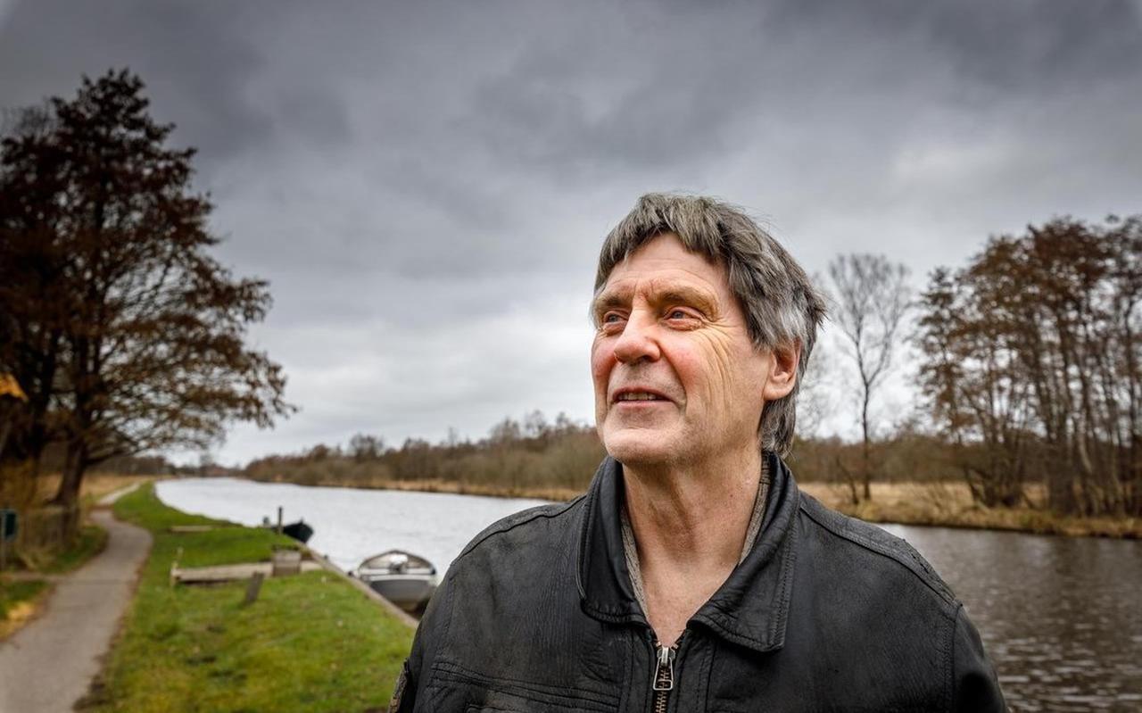 Wim Liesker uit Ossenzijl is een van de kartrekkers van actiecomité HoogOverijssel.