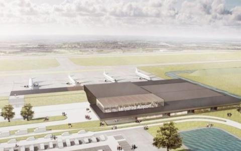 Impressie Lelystad Airport