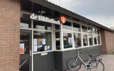 De bibliotheek in Sint Jansklooster