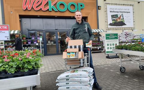 Welkoop Steenwijk heeft gezorgd voor zaden en grond.