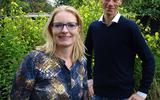 Jantina Drijfhout en Dennis Spans.