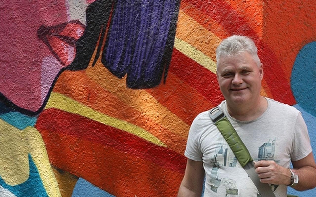 Jacques de Jong in Lima.