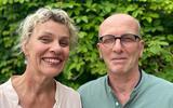 Zorgondernemers Bert en Annelies Boshoven kijken nu tevreden terug op het allereerste begin.