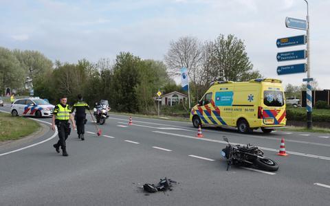 Het ongeval ontstond mogelijk als gevolg van een voorrangsfout.