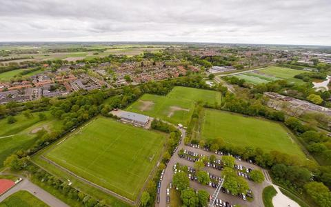Sportpark Nieuwe Gagels, de thuishaven van VV Steenwijk.