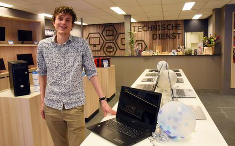 Het vernieuwde HDV Computers van Bryan IJdel is afgelopen donderdag open gegaan.