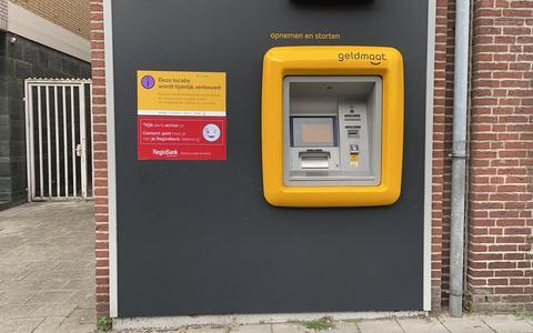 De Geldmaat is weer buiten gebruik.
