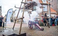 Vorig jaar werd met een dreunend kanonschot de start ingeluid van de Scutterie van Sint Clemens.
