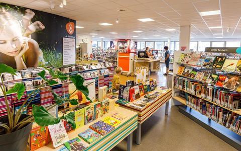 De bibliotheek in Steenwijk.