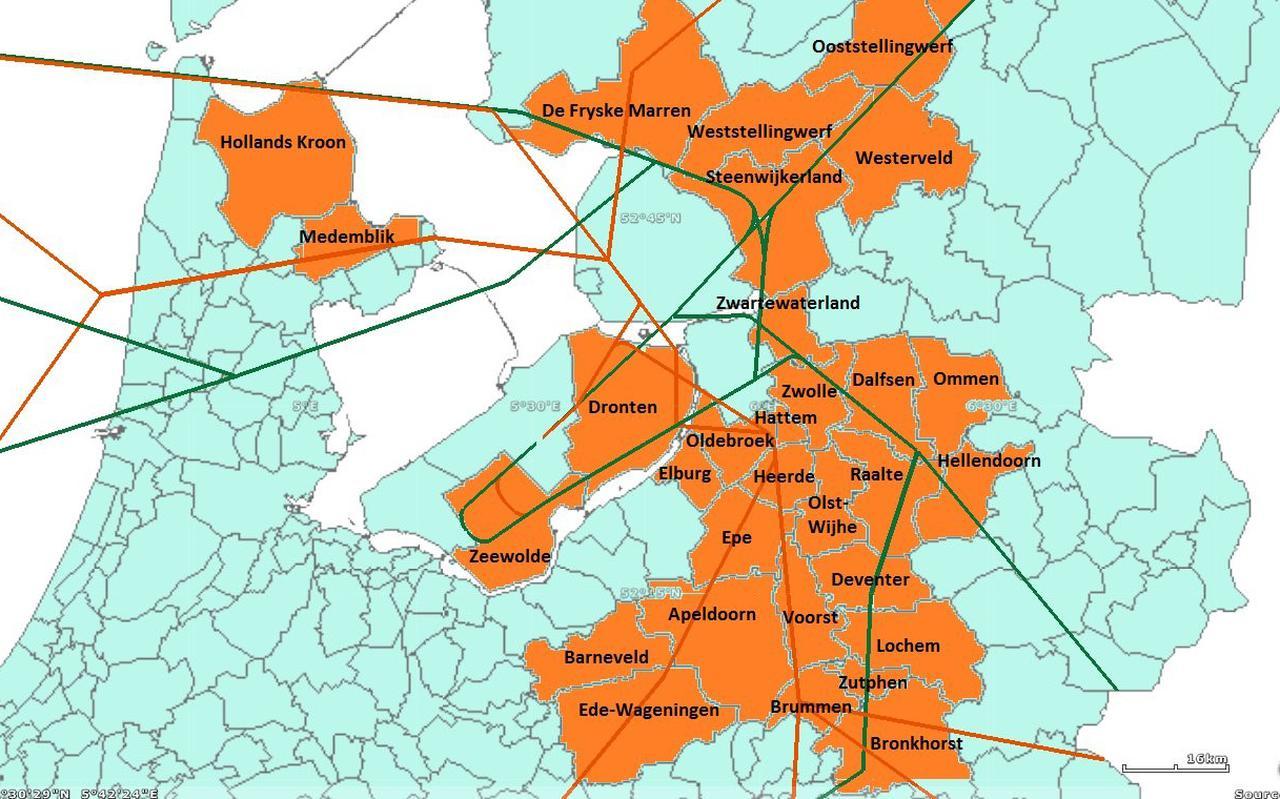 Tientallen gemeenteraden lieten zich inmiddels kritisch uit over de laagvliegroutes van en naar Lelystad Airport.