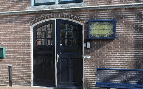 Hospice het Riemkehuis aan de Goeman Borgesiusstraat.
